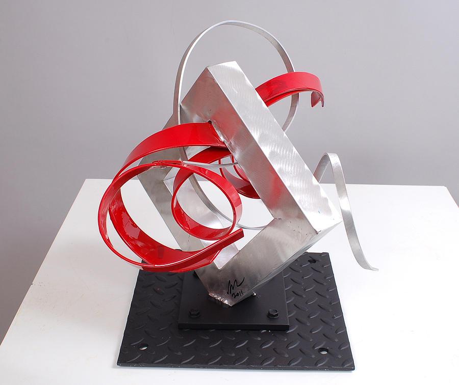 Welded Sculpture - Erotic Desire by Mac Worthington