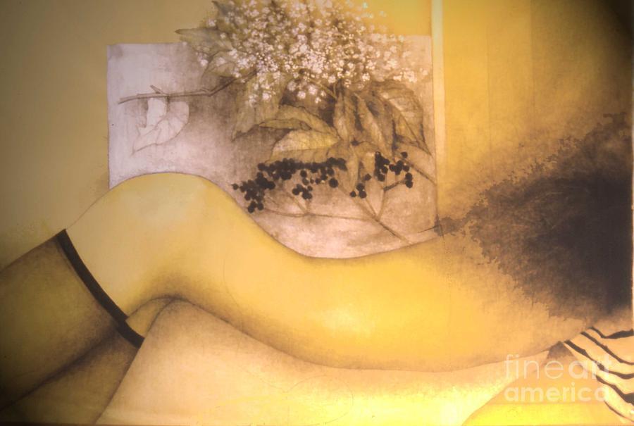 Erotic Nude 3 Painting - Erotic Nude 3 Fine Art Print - Iwona Sosnowska