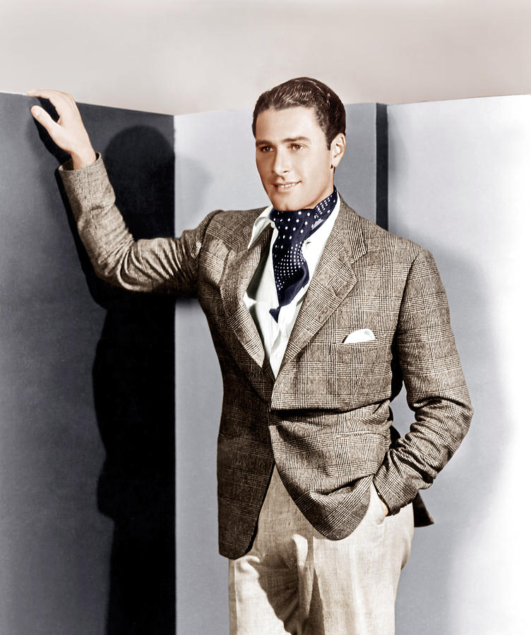 Errol Flynn, Ca. 1930s Photograph