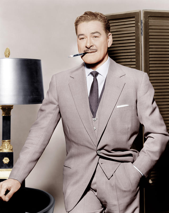 Errol Flynn, Ca. 1950s Photograph