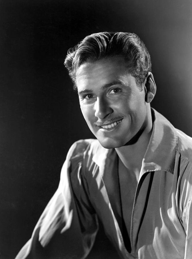 Errol Flynn Photograph