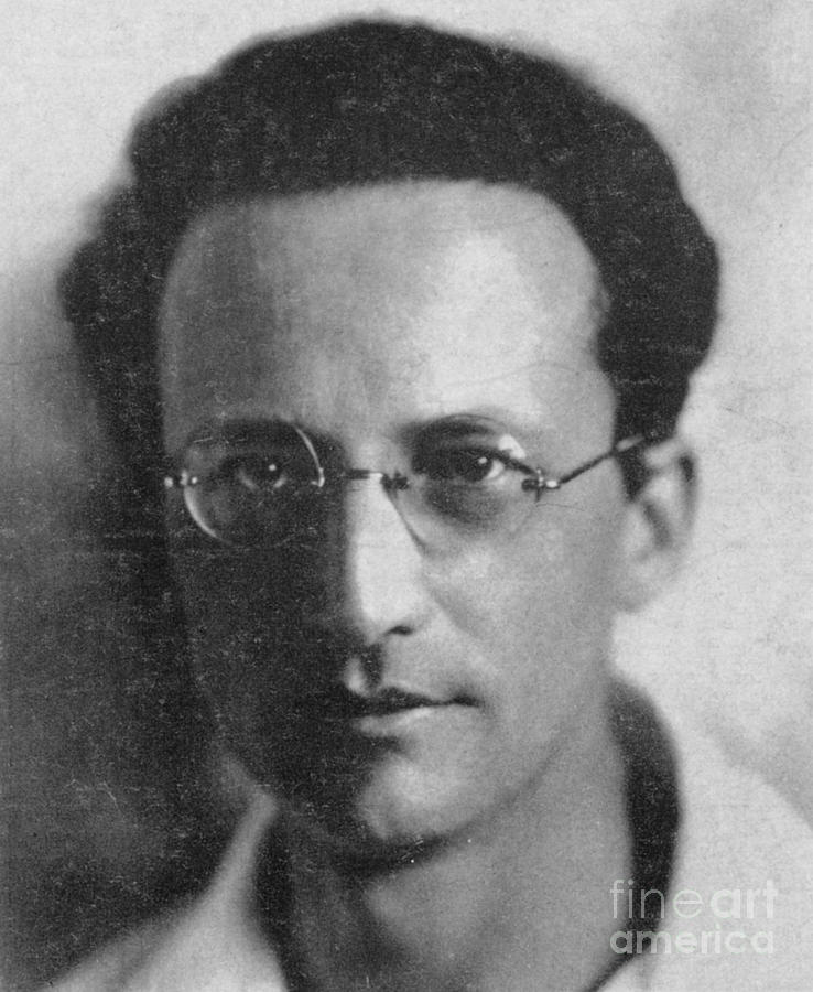 Erwin Schrodinger, Austrian Physicist Photograph by ...