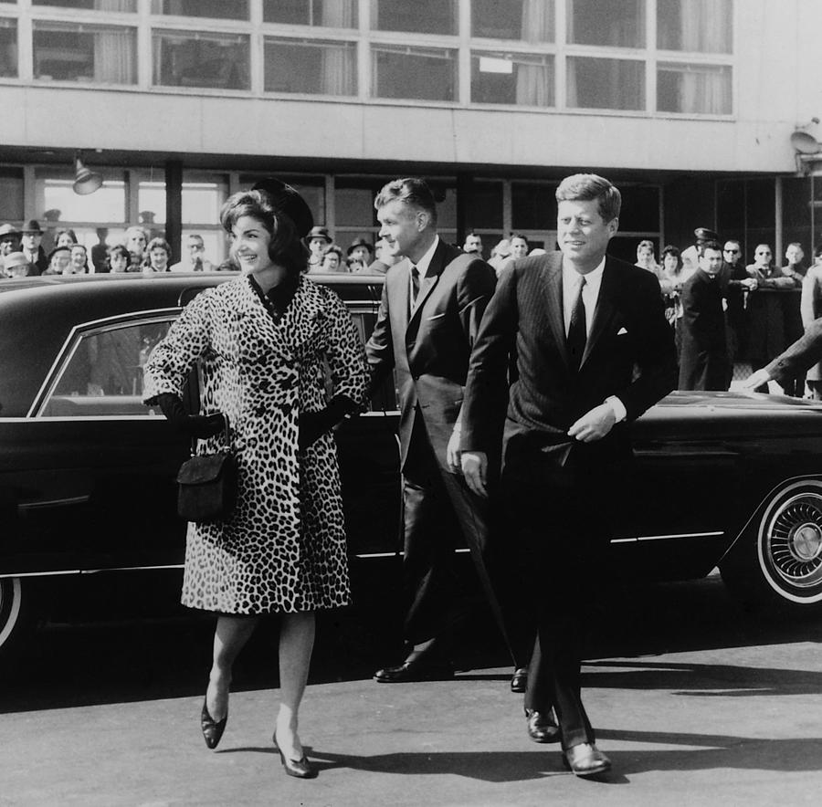 Escorted By President Kennedy Photograph