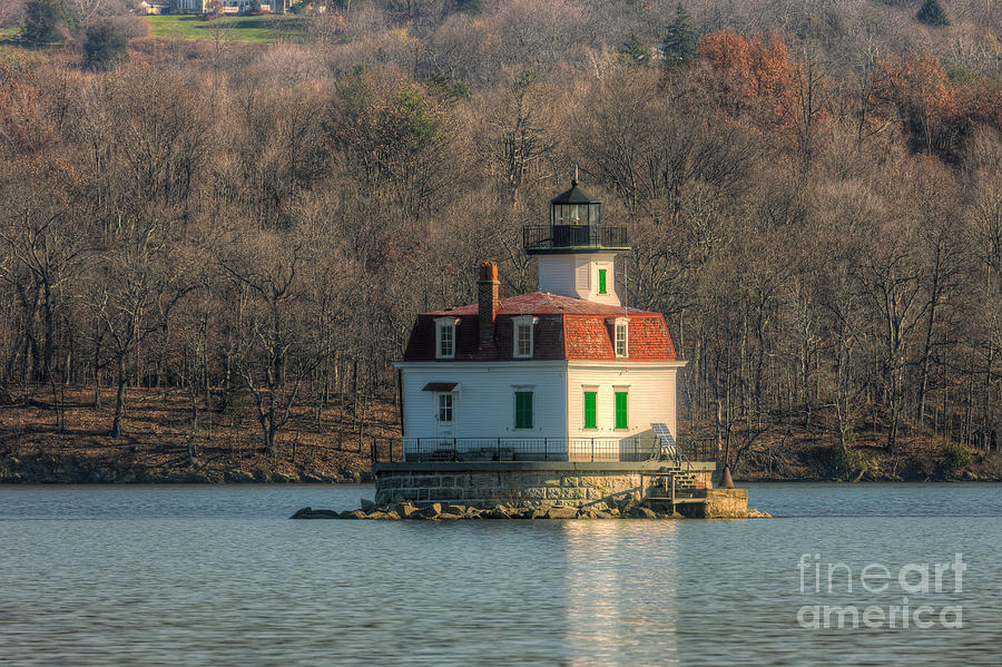 Clarence Holmes Photograph - Esopus Meadows Lighthouse I by Clarence Holmes