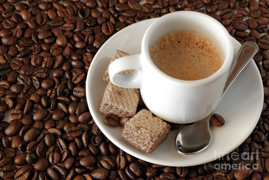 Espresso Coffee Photograph  - Espresso Coffee Fine Art Print