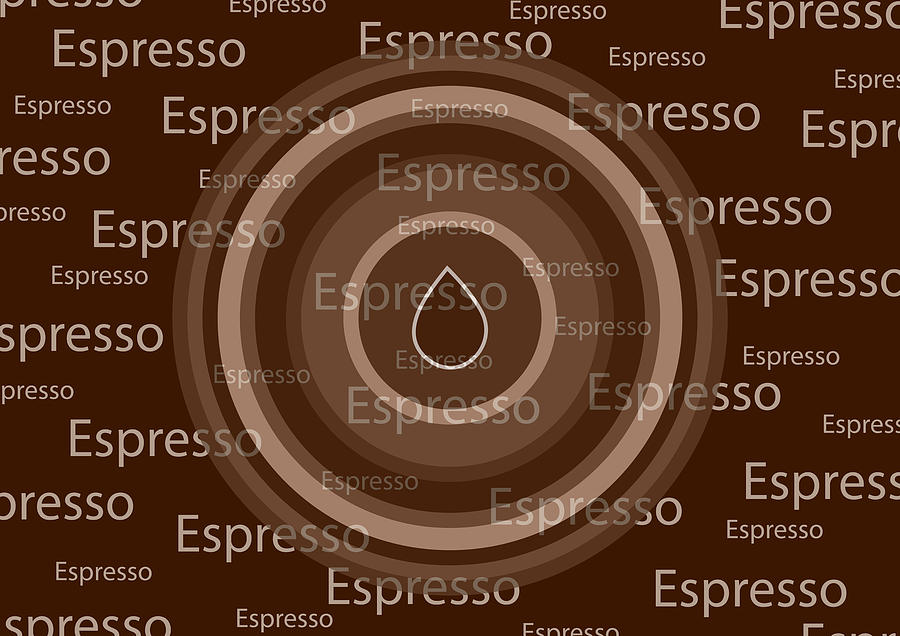 Espresso Mixed Media