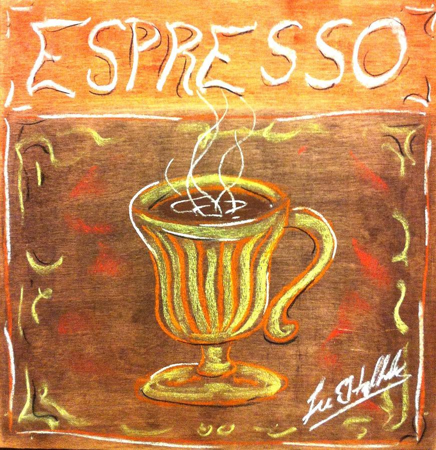 Espresso Painting