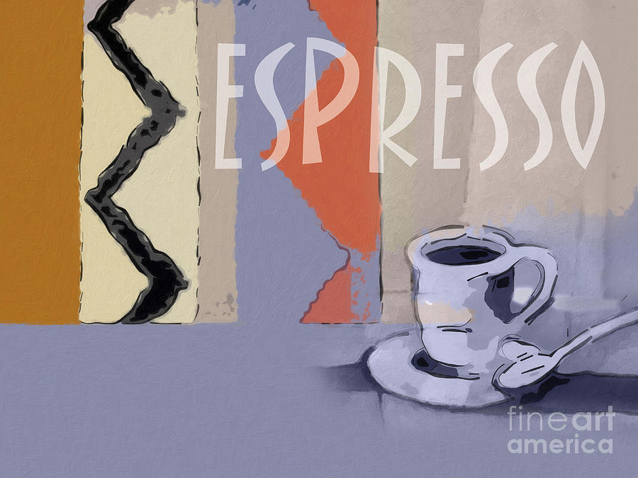 Espresso Poster Painting
