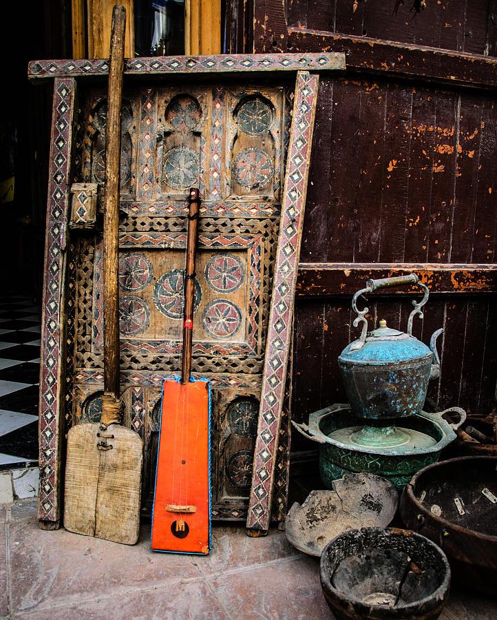 Essauoira Treasures Photograph