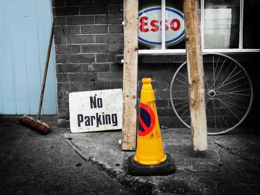 Still Life Photograph - Esso by Charles Stuart