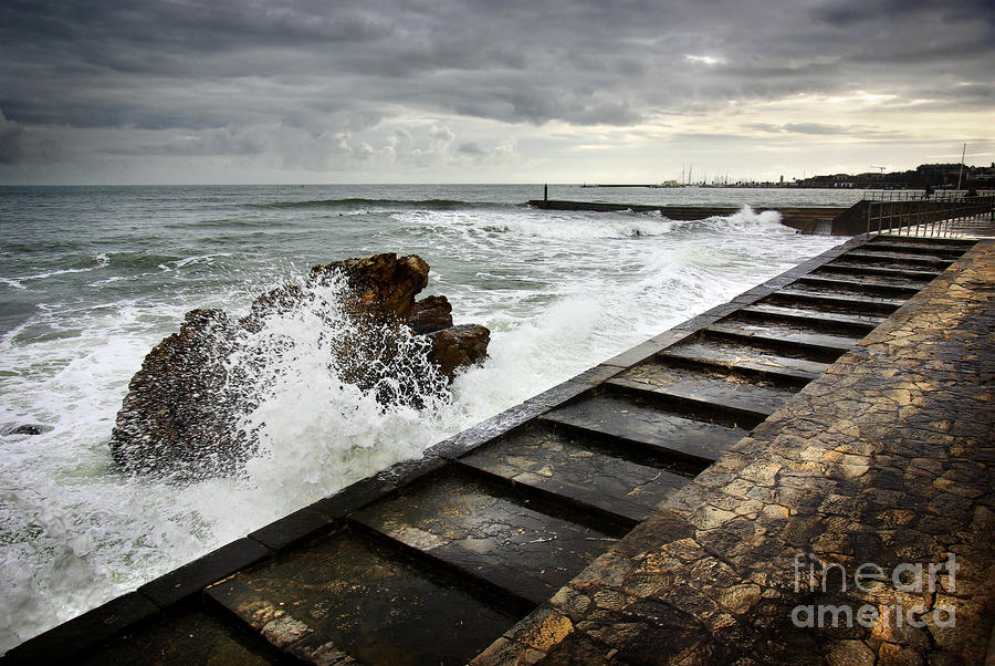Estoril Coastline Photograph  - Estoril Coastline Fine Art Print