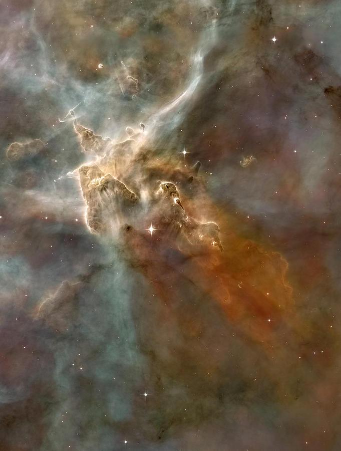 Carina Nebula Photograph - Eta Carinae Nebula, Hst Image by Nasaesan. Smith (university Of California, Berkeley)hubble Heritage Team (stsclaura)