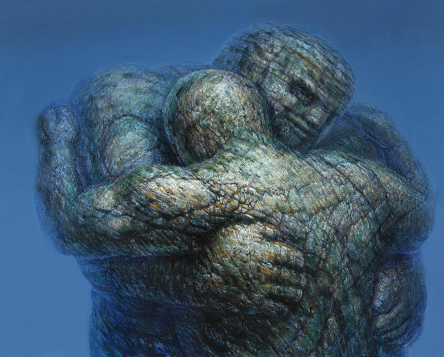 Eternal Embrace Painting  - Eternal Embrace Fine Art Print