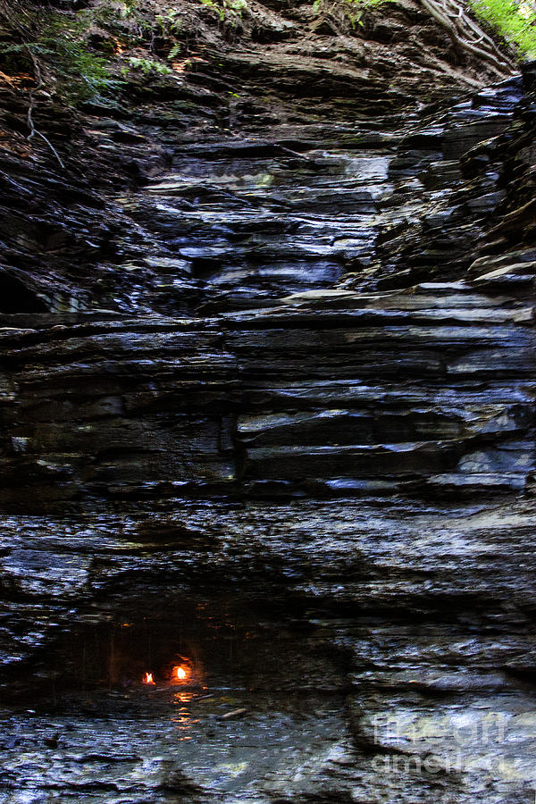 Eternal Flame Falls Photograph