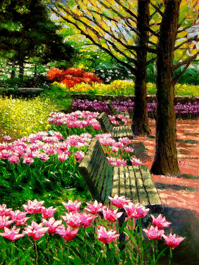 Eternal Spring Painting  - Eternal Spring Fine Art Print