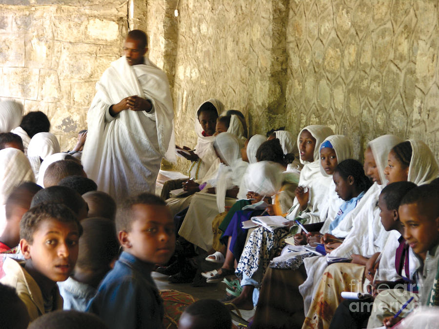 Ethiopian Orthodox Teachings Photograph  - Ethiopian Orthodox Teachings Fine Art Print