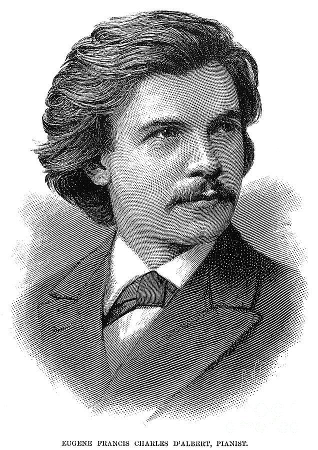 Eugen Francis C. Dalbert (1864-1932) Photograph