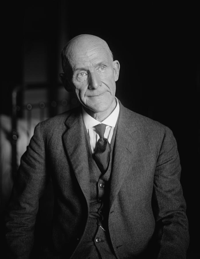 Eugene Debs 1855-1926 Ran For U.s Photograph by Everett Eugene Debs