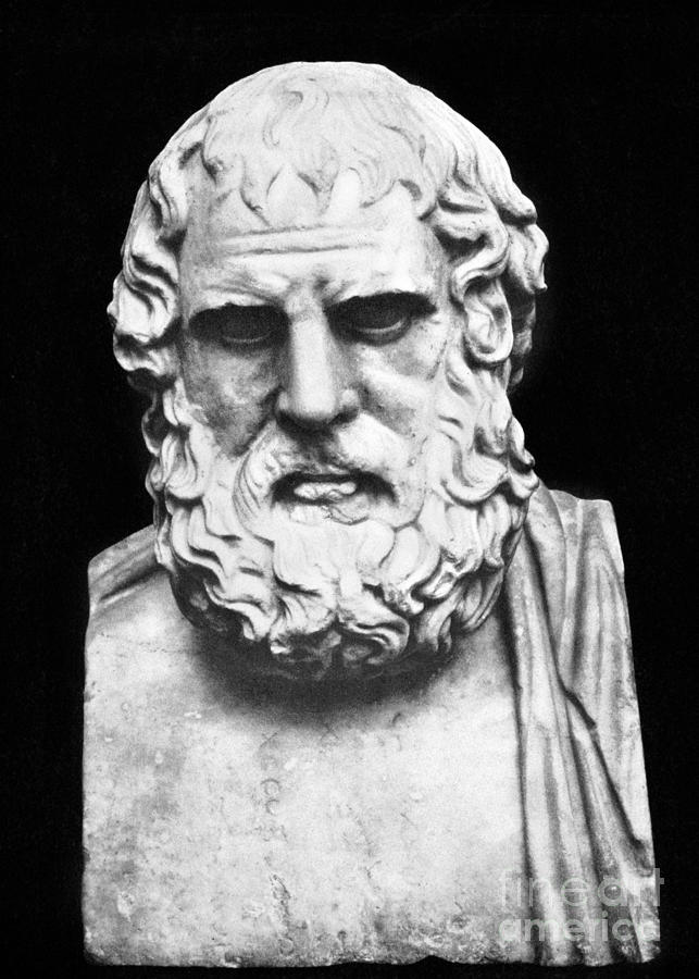 5th Century B.c Photograph - Euripides by Granger