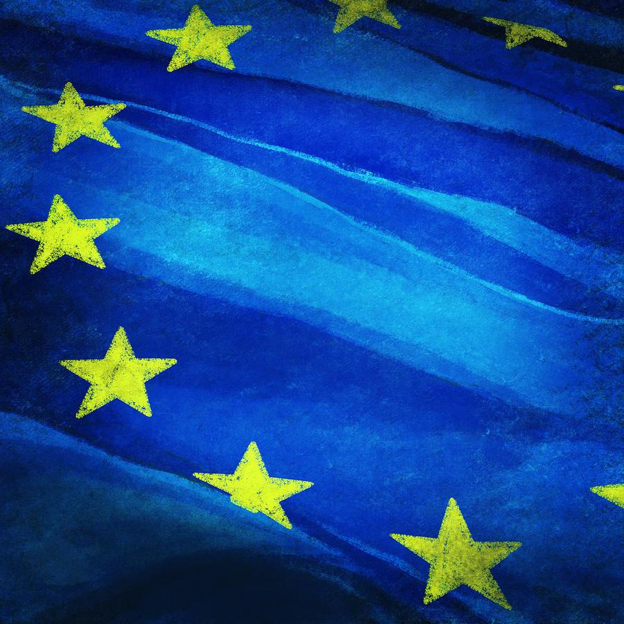 European Flag Painting
