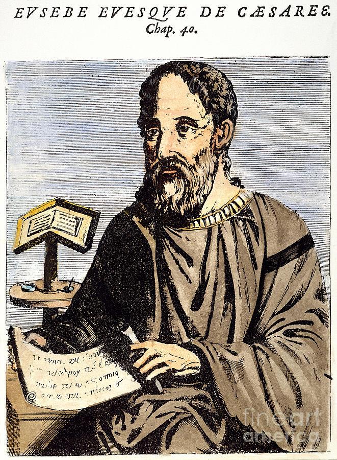 Et imaginært moderne portrett av Eusebius