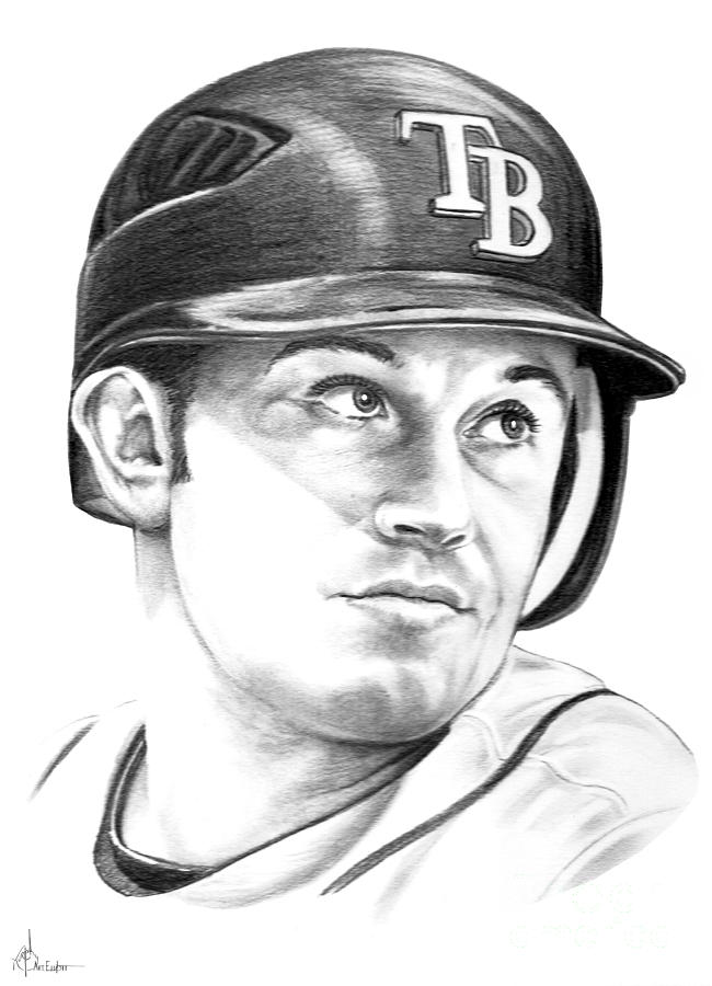Evan Longoria Drawing