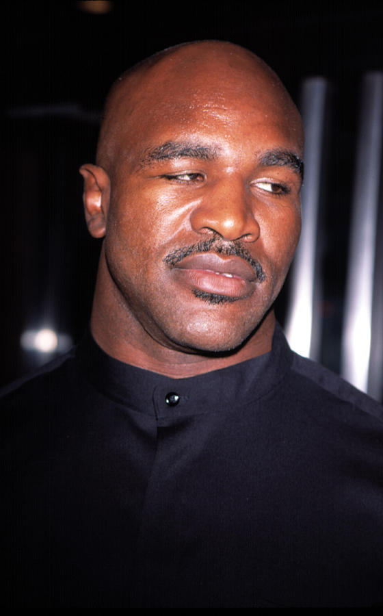 Evander Holyfield At Premier Of In Too Photograph  - Evander Holyfield At Premier Of In Too Fine Art Print