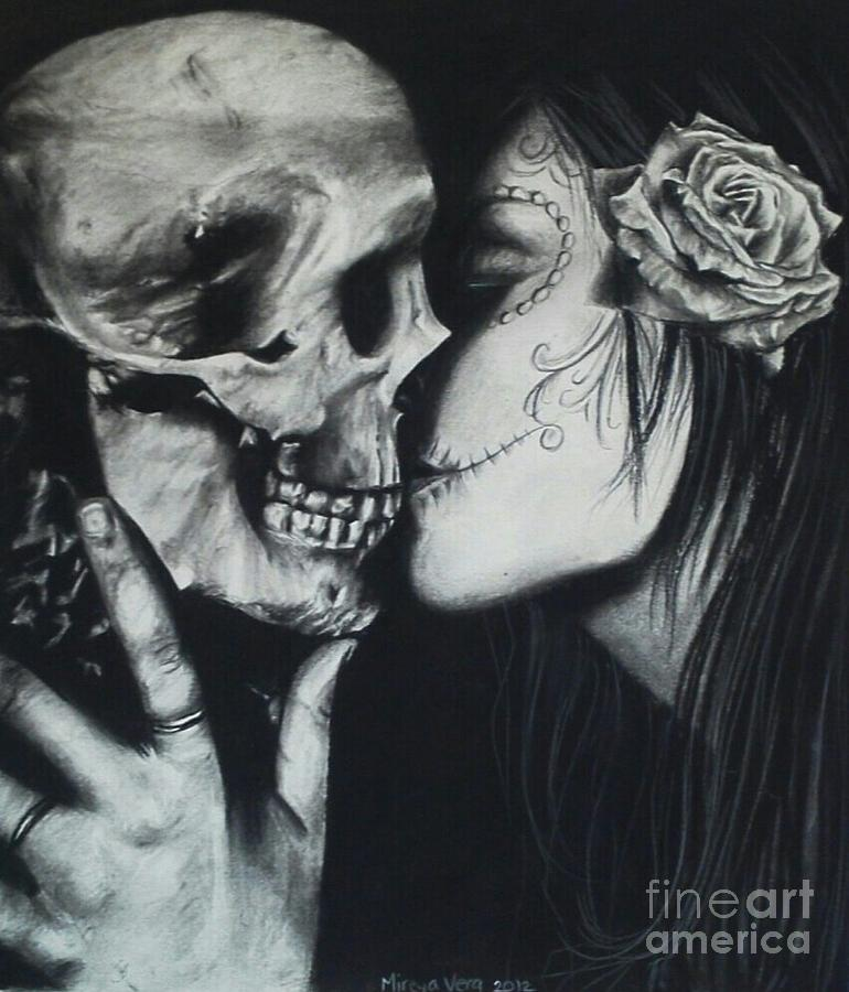 Even In Death Drawing