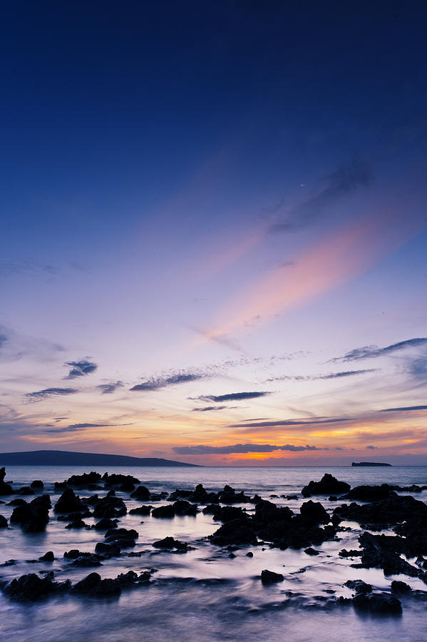 Evening Glow - Makena IIi Photograph  - Evening Glow - Makena IIi Fine Art Print