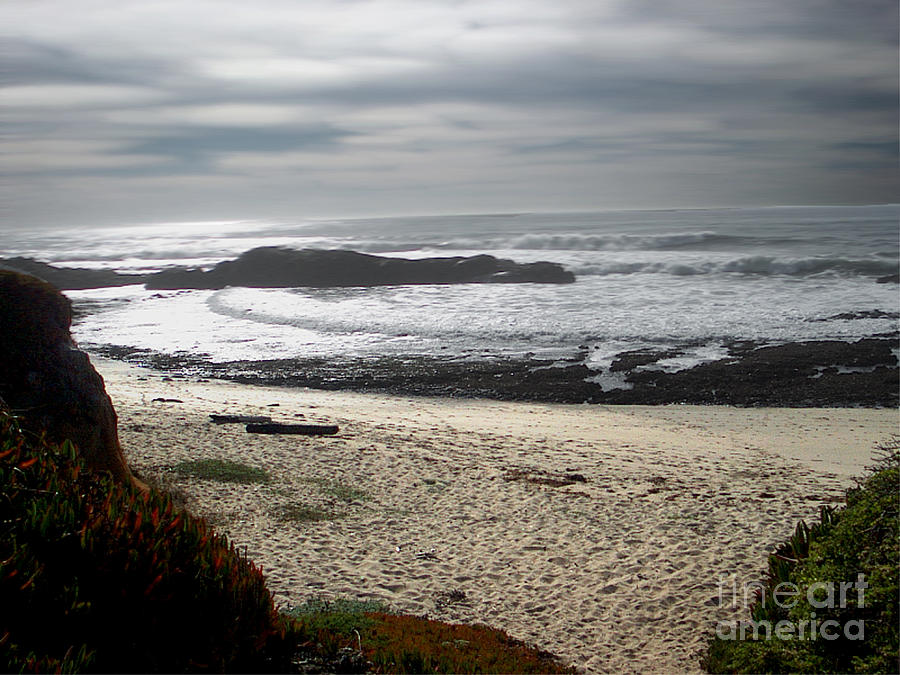 Evening Ocean Surf Photograph  - Evening Ocean Surf Fine Art Print