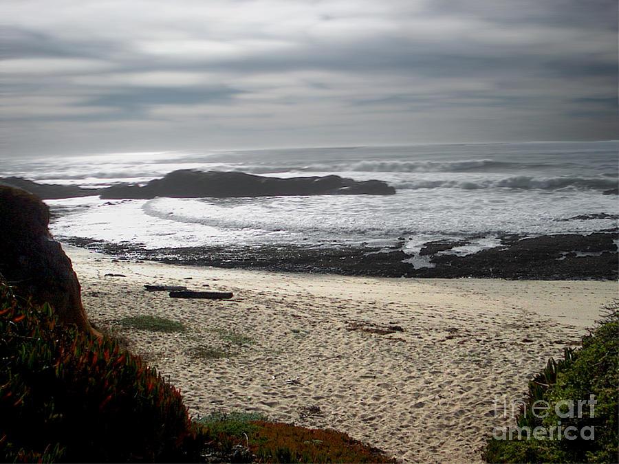 Evening Ocean Surf Photograph