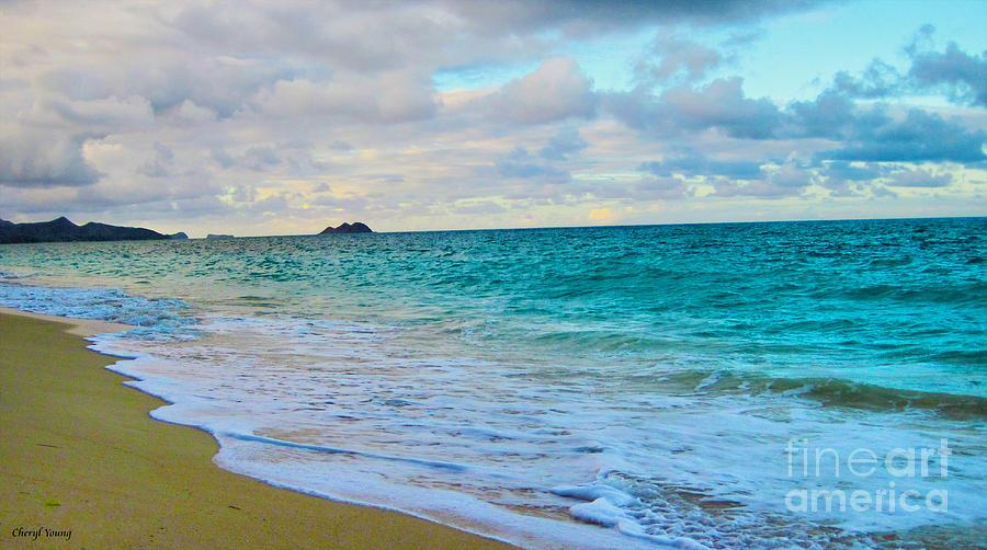 Evening On The Beach Photograph