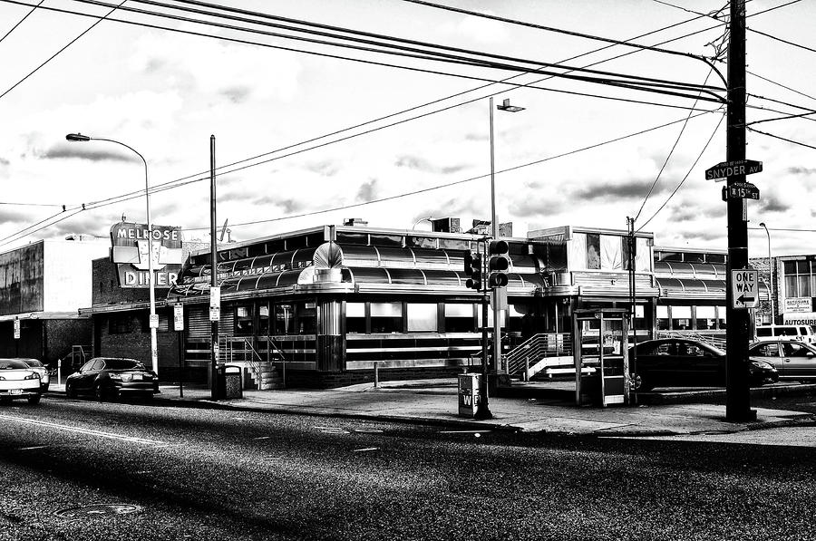 Everybody Goes To Melrose - The Melrose Diner - Philadelphia Photograph  - Everybody Goes To Melrose - The Melrose Diner - Philadelphia Fine Art Print