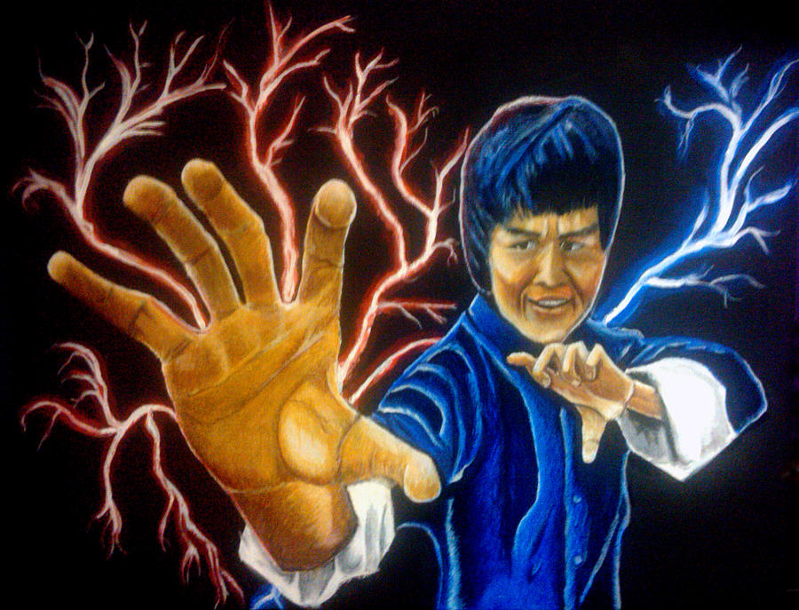 Everyones Kung Fu Fighting Painting  - Everyones Kung Fu Fighting Fine Art Print
