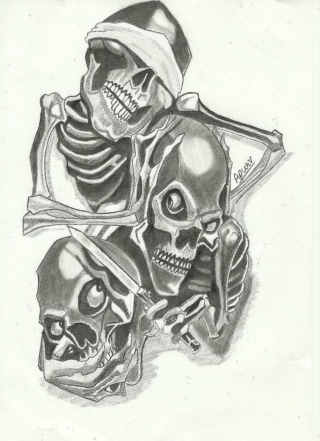 The gallery for --> Evil Demon Skull Drawings