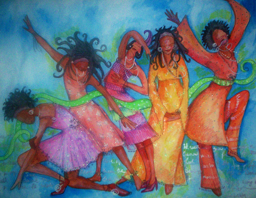 Evolutions Of Dance Painting