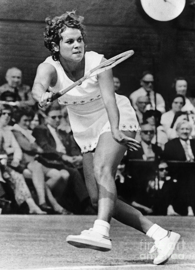 Evonne Goolagong (1951- ) Photograph