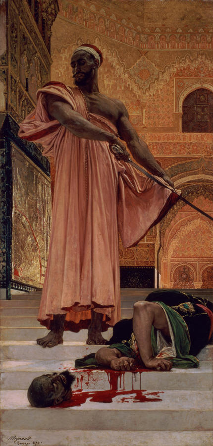 Execution Without Trial Under The Moorish Kings In Granada Painting