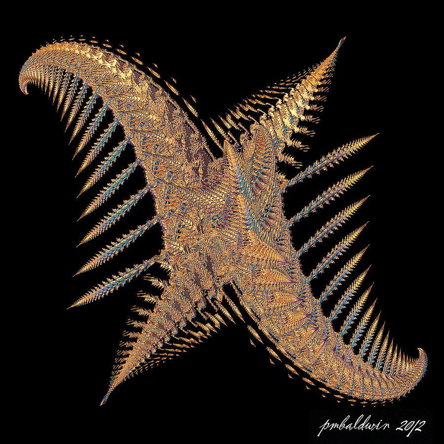Fractal Digital Art - Exercise  Jumping Jacks by Patrice Baldwin