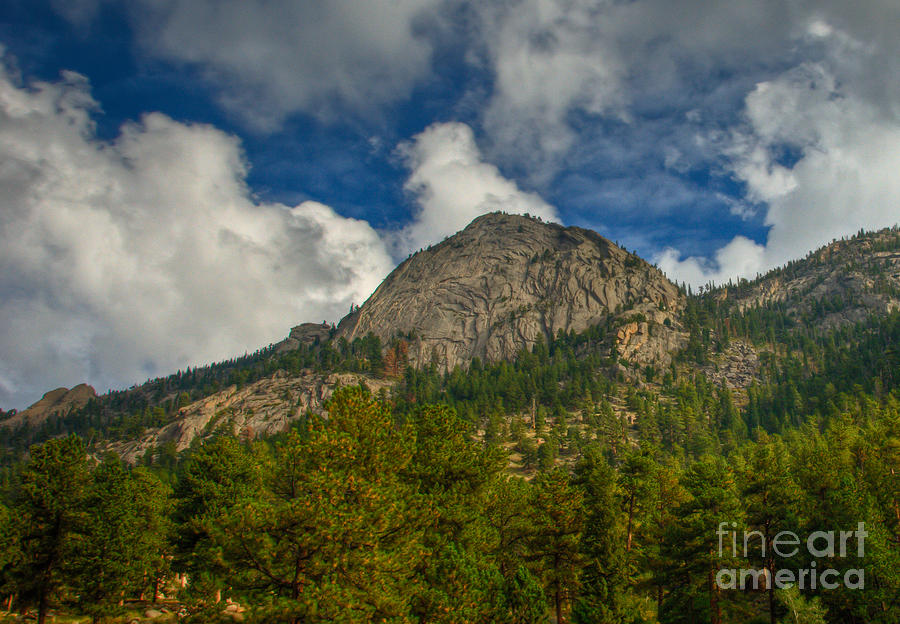 Rmnp Photograph - Exfoliation Dome Of Macgregor Mountain by Harry Strharsky
