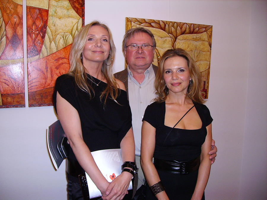 Exhibition At Polish Consulate Painting