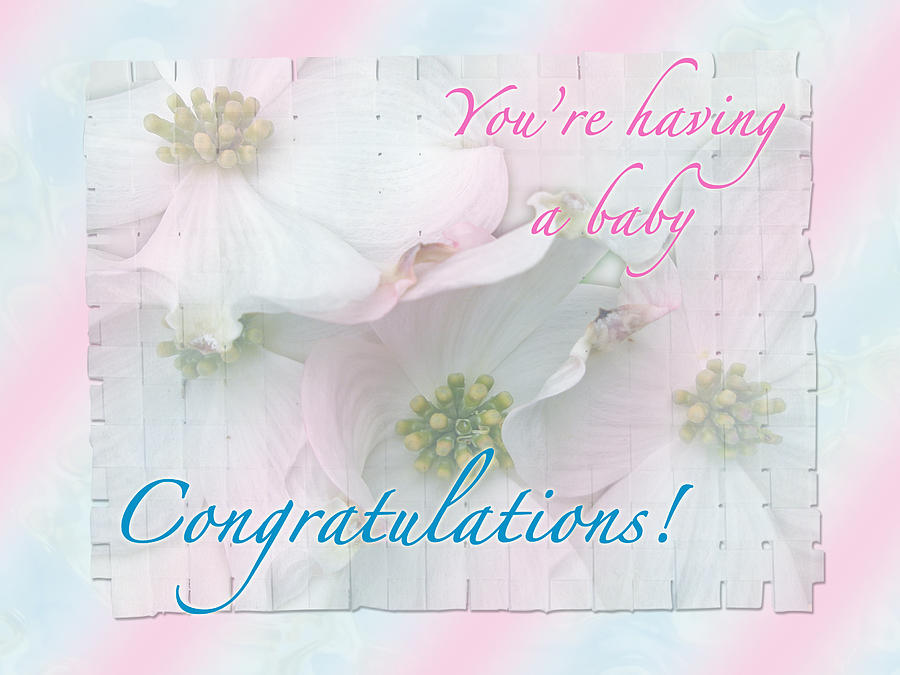 Expecting Baby Congratulations Card is a photograph by Mother Nature ...