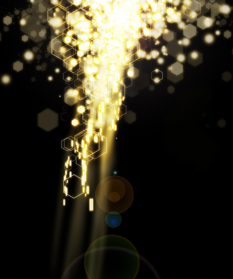 Explosion Of Lights Photograph  - Explosion Of Lights Fine Art Print
