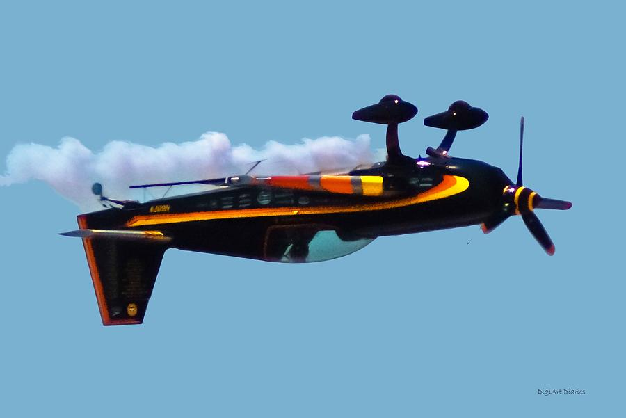 Extra 300s Stunt Plane Digital Art