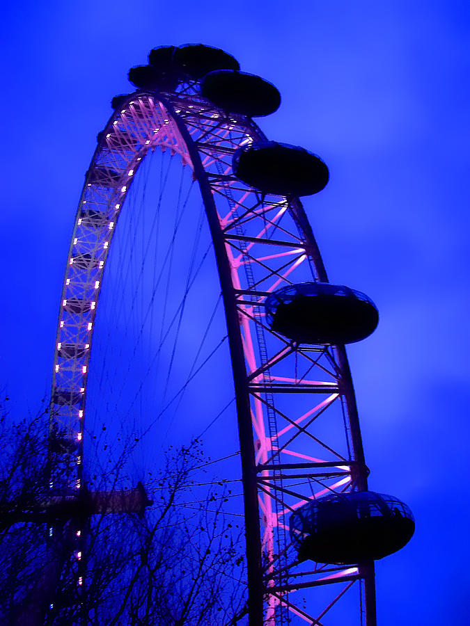 Eye Of London Photograph  - Eye Of London Fine Art Print