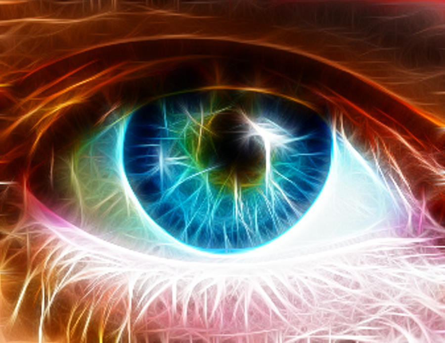 Eye Painting  - Eye Fine Art Print