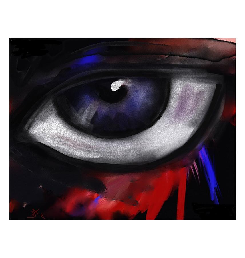 Simple Things Digital Painting: Eyes Are Easy By Jennifer Addington