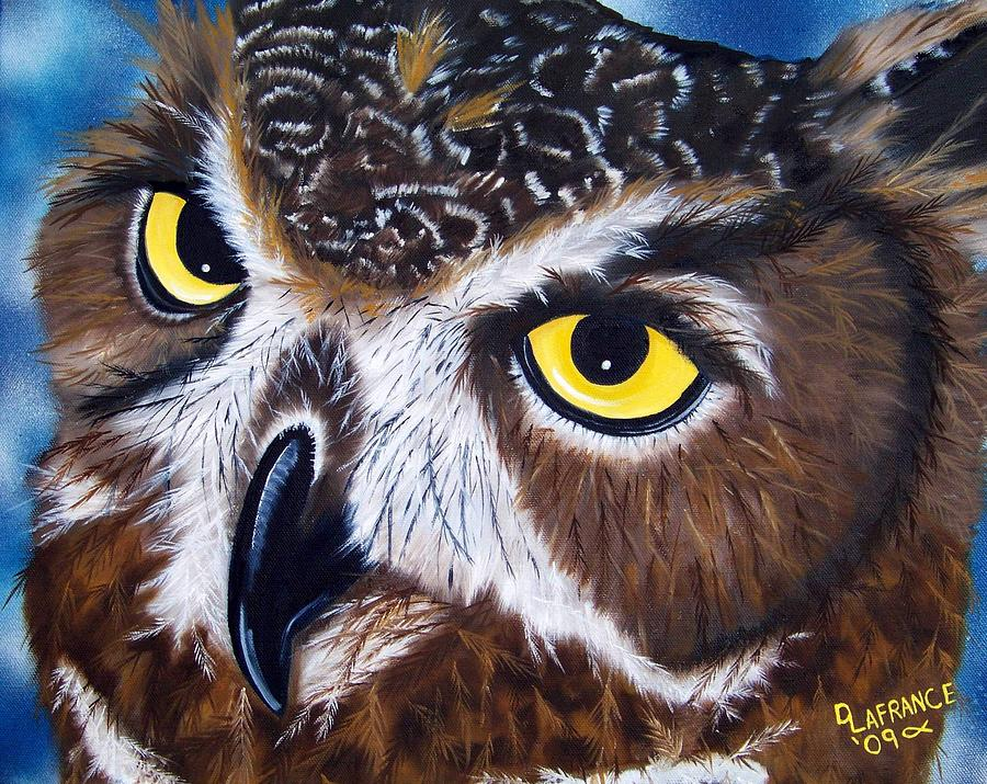 Eyes Of Wisdom Painting  - Eyes Of Wisdom Fine Art Print