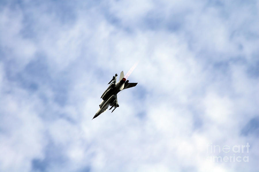 F-16 Of The Belgian Air Force Photograph  - F-16 Of The Belgian Air Force Fine Art Print