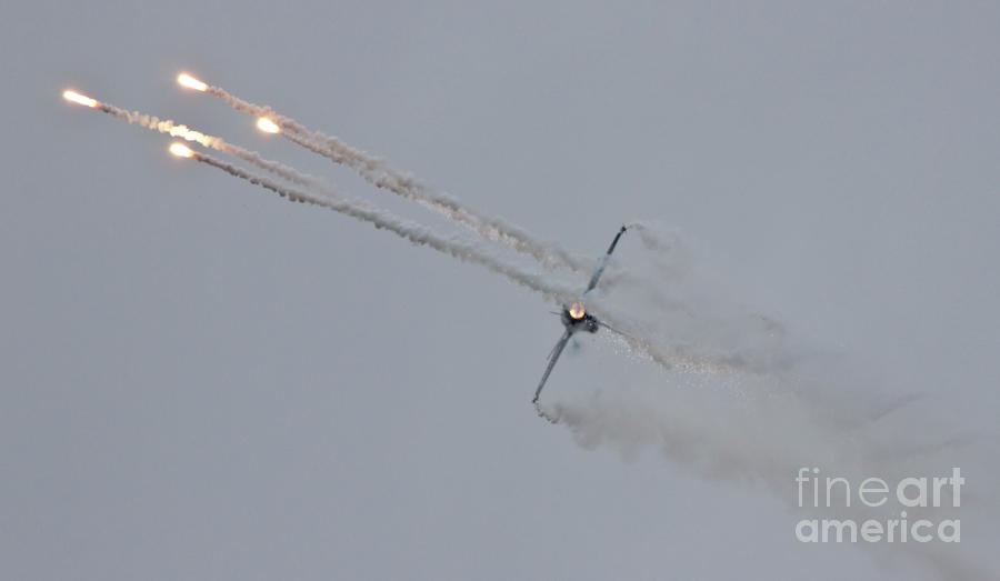 Belgium Photograph - F-16 Vortex II by Lee Sure